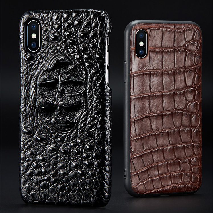 iphone 8 plus crocodile skin case