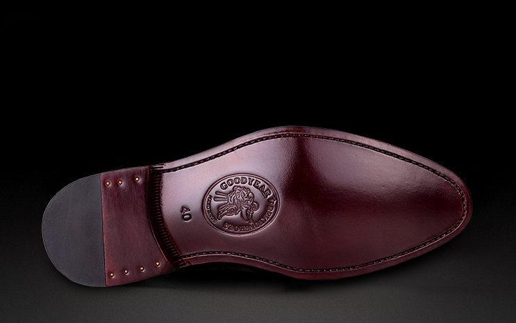 Men's Premium Genuine Alligator Skin Dress Shoes-Sole