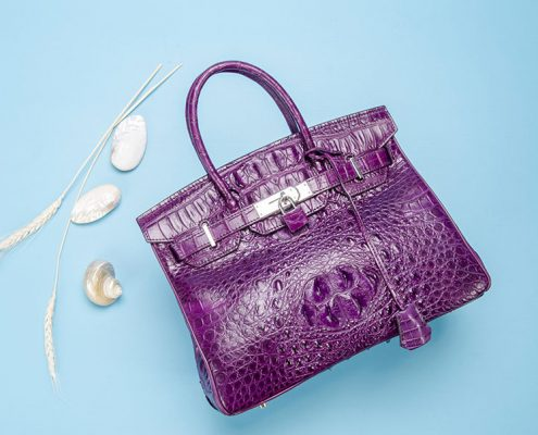 2018 Best Handbags - BRUCEGAO's Crocodile Handbags