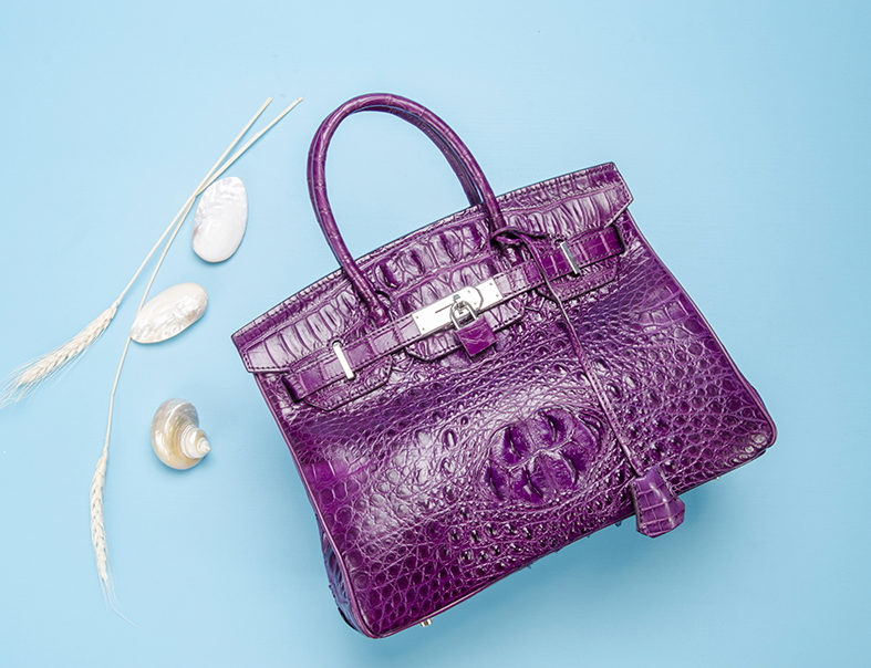 2018 Best Handbags - BRUCEGAO's Crocodile Handbags