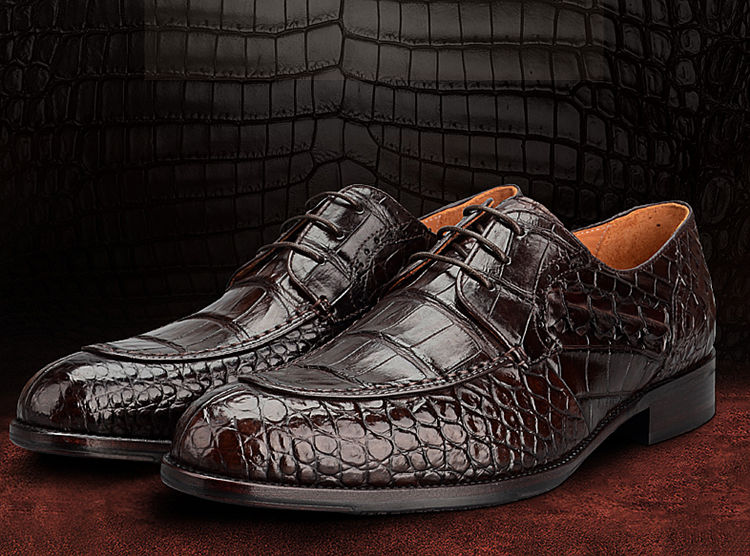 Alligator Shoes for Christmas Gift
