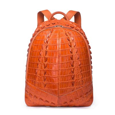 Crocodile Backpack, Fashion Crocodile Cycling Backpack