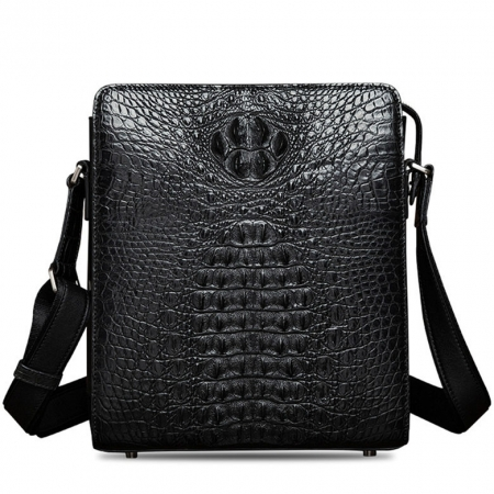 Crocodile Leather Messenger Bag Shoulder Bag Crossbody Bag