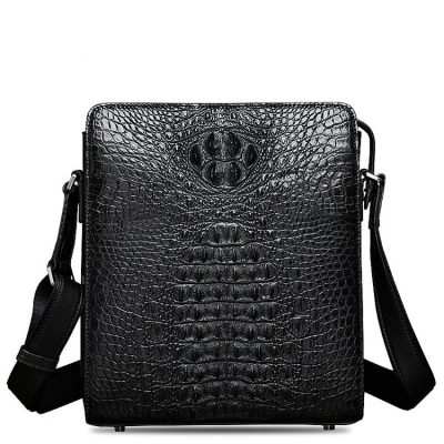 Crocodile Leather Messenger Bag Shoulder Bag Crossbody Bag from BRUCEGAO