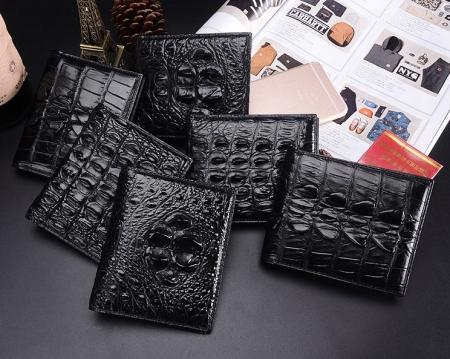 Crocodile Wallets Exhibition-Black