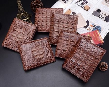 Crocodile Wallets Exhibition-Brown
