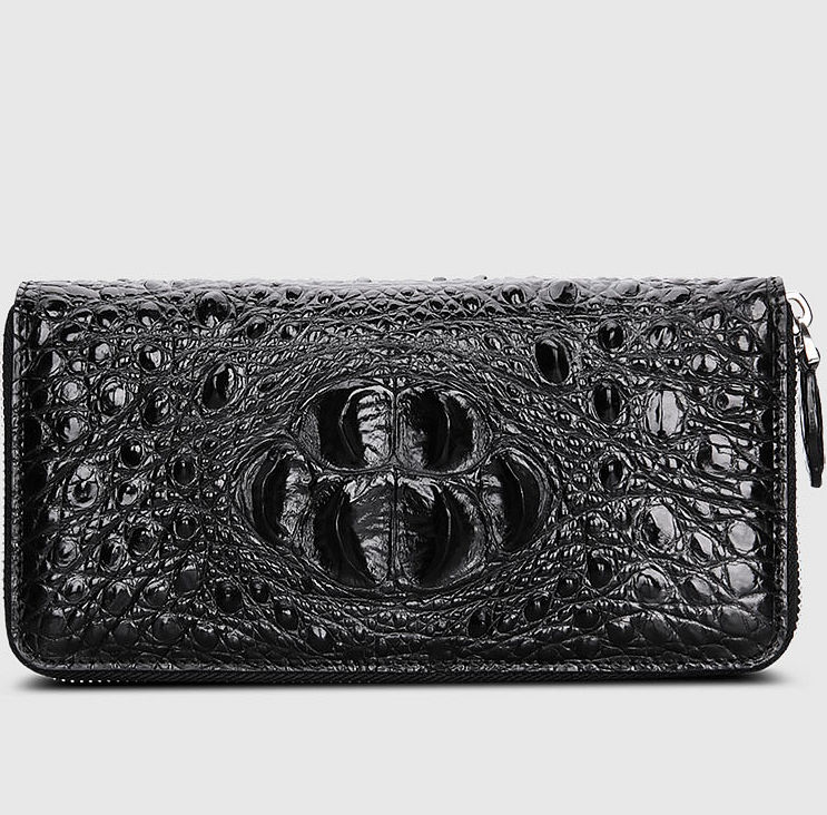 Crocodile Zip Around Long Wallet for Me