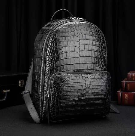 Genuine Alligator Skin Backpack
