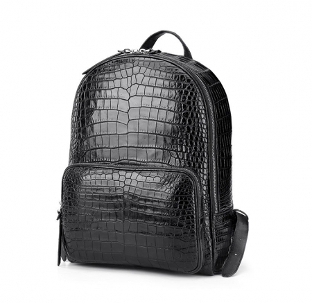 Genuine Alligator Skin Backpack, Luxury Backpack for Men-1