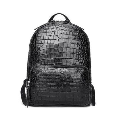 Genuine Alligator Skin Backpack, Luxury Backpack for Men