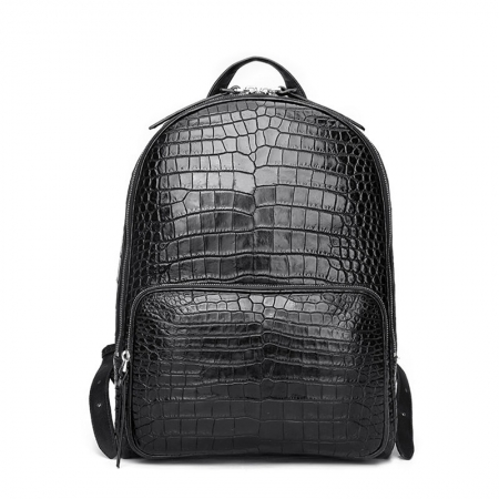 Genuine Alligator Skin Backpack, Luxury Backpack for Men