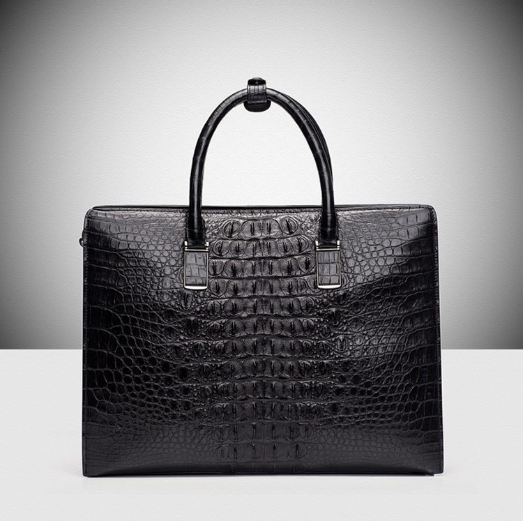 Genuine Alligator Skin Business Bag From BRUCEGAO