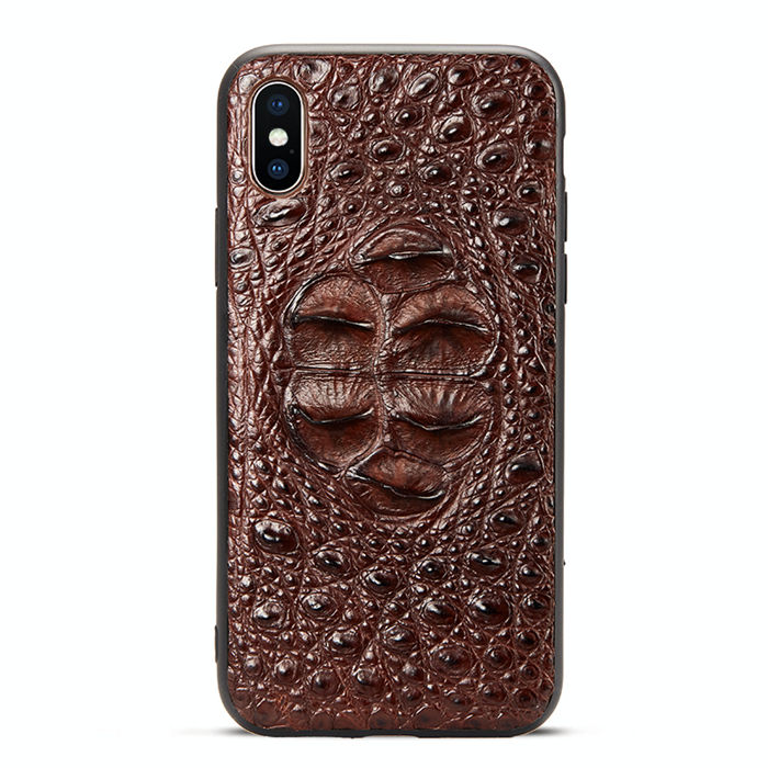 Genuine Crocodile Skin iPhone X Case