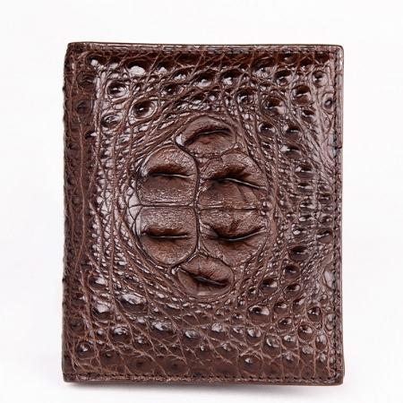 Handmade Genuine Crocodile Leather Wallet