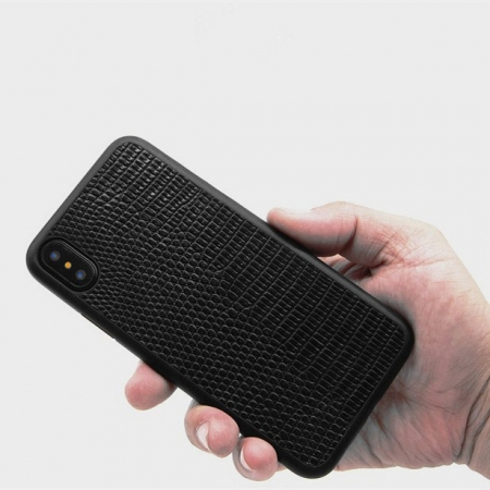 Lizard Leather iPhone X Case
