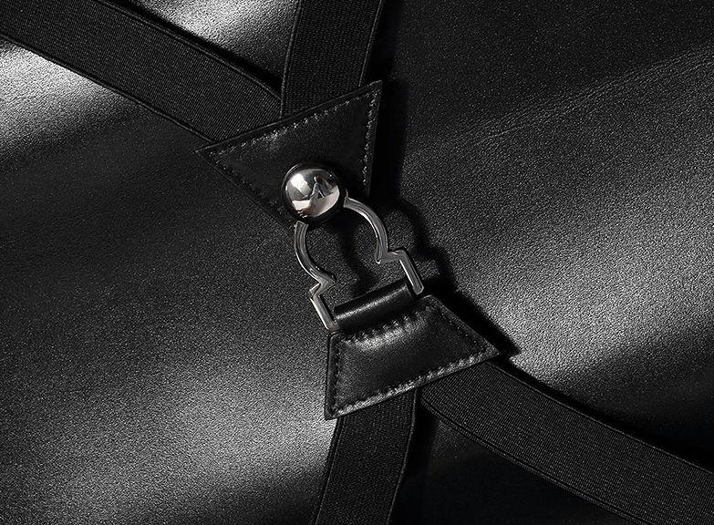 Luxury Genuine Crocodile Leather Luggage Bag Business Trolley Travel Bag-Details-1