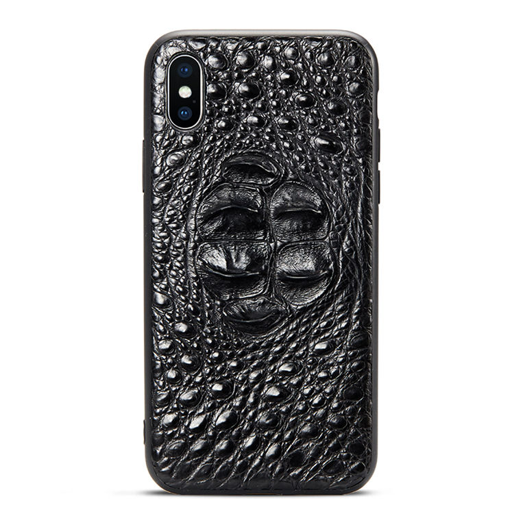 Luxury iPhone X Case, Crocodile iPhone X Case