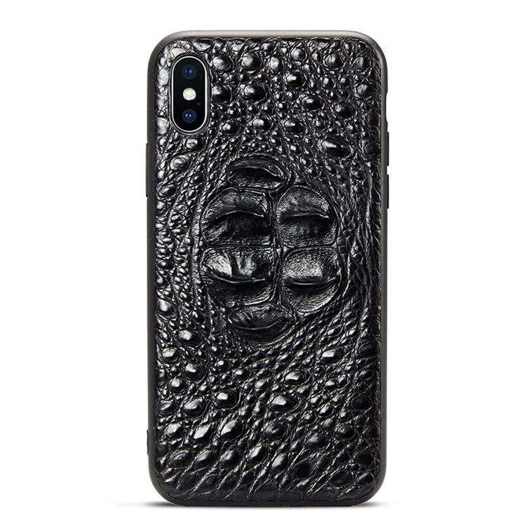 Luxury iPhone X Case, Crocodile iPhone X Case