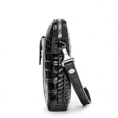 Men Alligator Clutch Wallet Business Zipper Long Card Holder Phone Purse-Side