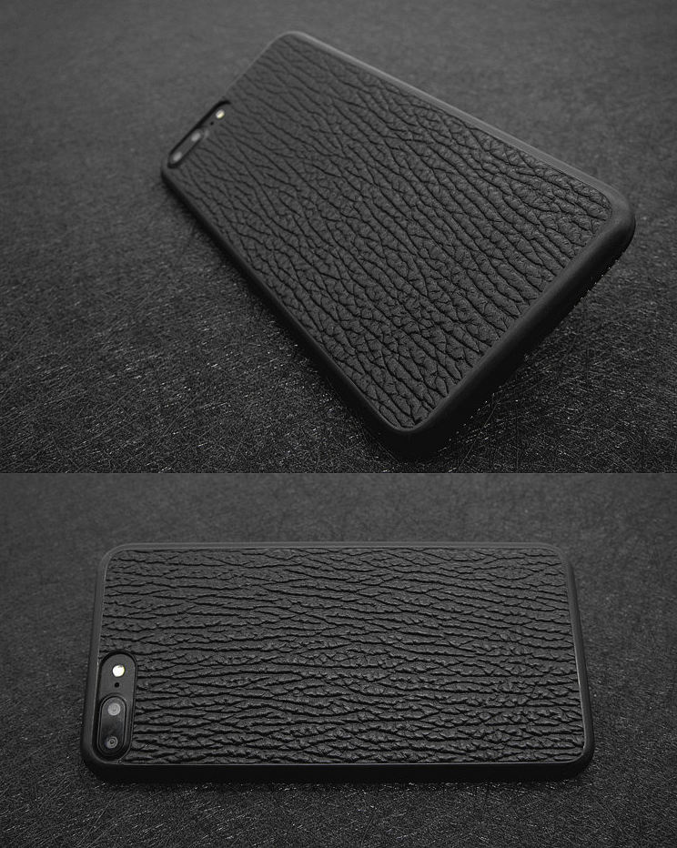 Shark Skin iPhone 8 Plus Case-Exhibition