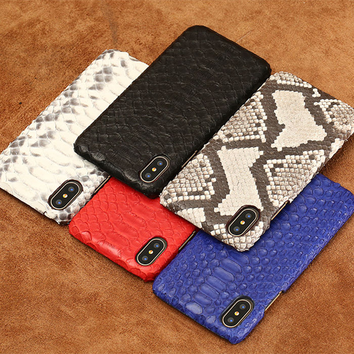 Snakeskin iPhone Case, Snakeskin iPhone X Case, Python iPhone X Case