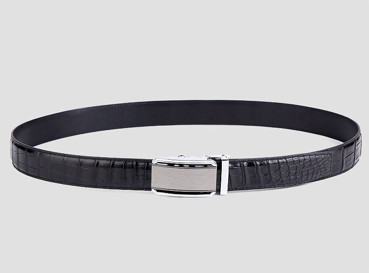 Alligator Belt with Automatic Buckle-2