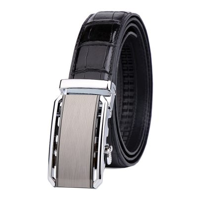 Alligator Belt with Automatic Buckle