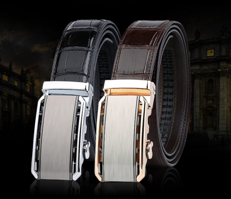 Alligator Belt with Automatic Buckle-Exhibition