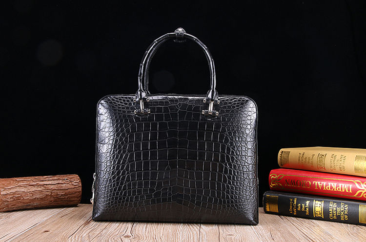 Alligator Laptop Bag