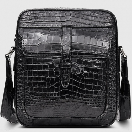 Alligator Messenger Bag Crossbody Shoulder Bag