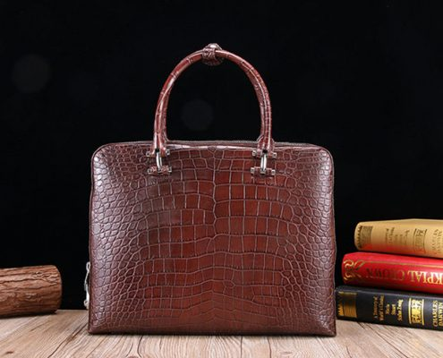 Alligator Skin Laptop Bag