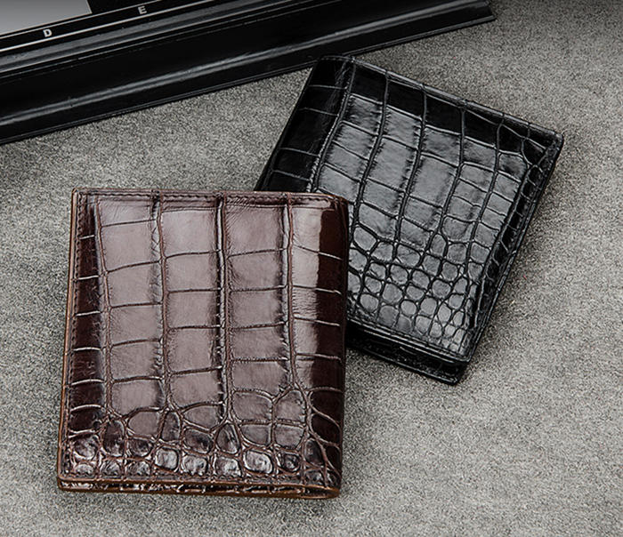 BRUCEGAO's Alligator Leather Wallet