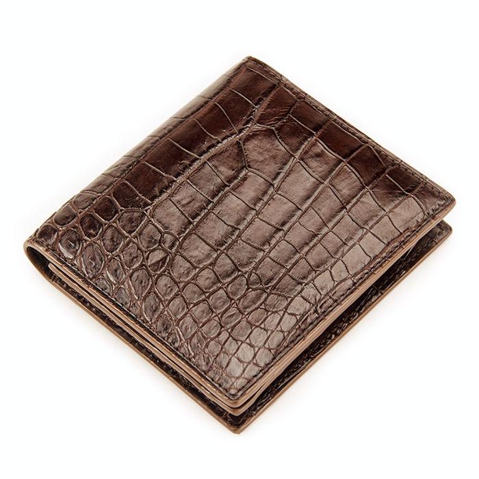 BRUCEGAO's Genuine Alligator Skin Wallet