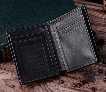 Best Crocodile Leather Wallet, Luxury Crocodile Leather Wallet for Men-Inside