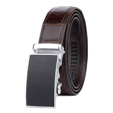 Classic Alligator Belt, Alligator Business Dress Belt