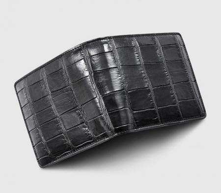 Classic Alligator Wallet, Genuine Alligator Skin Wallet for Men-1