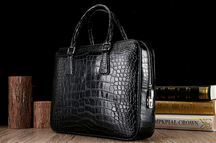 Crocodile Skin Laptop Bag