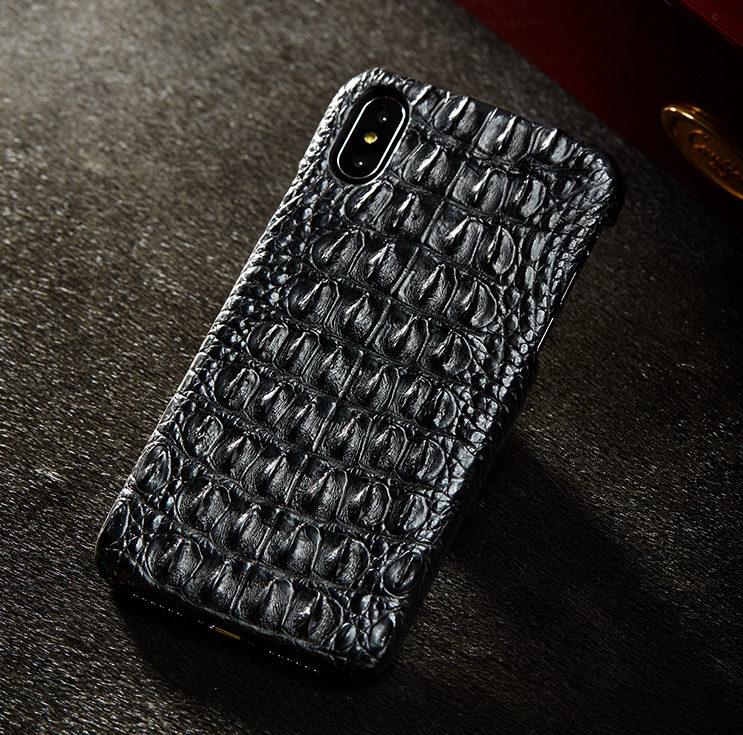 Crocodile iPhone Xs Max, Xs, X Case-Back Skin