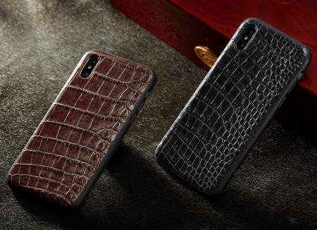 Genuine Alligator Skin iPhone Xs Max, Xs, X Case-Belly Skin