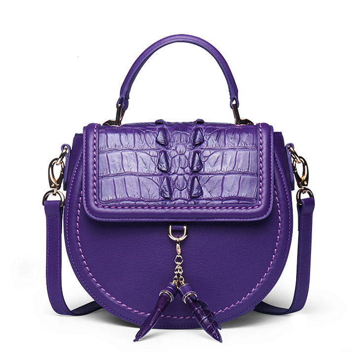 Ladies Designer Crocodile Handbag, Crocodile Purse