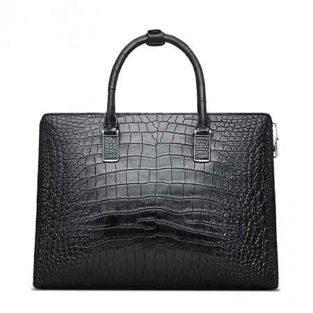 Luxury Business Alligator Skin Briefcase for Men