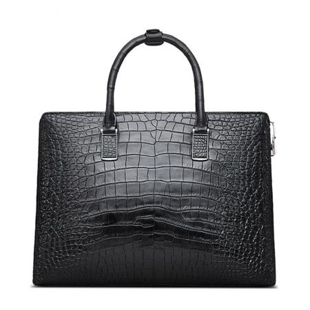 Luxury Business Alligator Skin Briefcase for Men