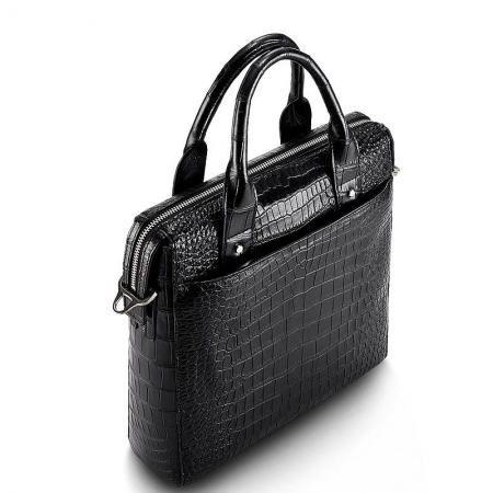 Mens Alligator Briefcase, Alligator Business Bag-1