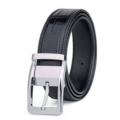 Mens Alligator Dress Belts, Classic Alligator Belts for Men