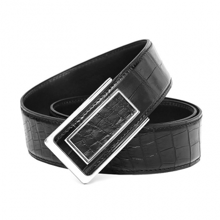 Stylish Alligator Belt, Casual Alligator Belt-Buckle