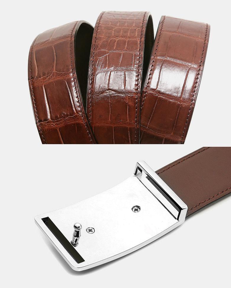 Stylish Alligator Belt, Casual Alligator Belt-Details