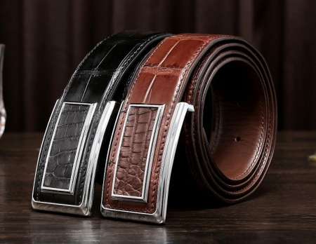 Stylish Alligator Belt, Casual Alligator Belt-Exhibition