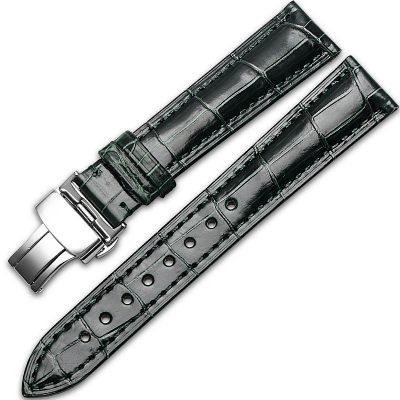 Alligator & Crocodile Apple Watch Band-Dark Green