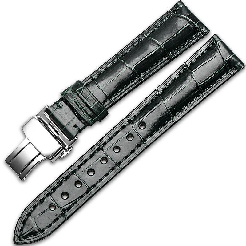 Alligator & Crocodile Apple Watch Band-Dark Green