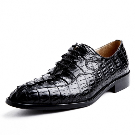 Alligator Shoes for Men, Mens Genuine Alligator Skin Shoes
